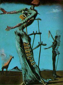 The Burning Giraffe- Salvador Dali