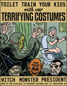 Toilet Training Costumes- Michael Kupperman